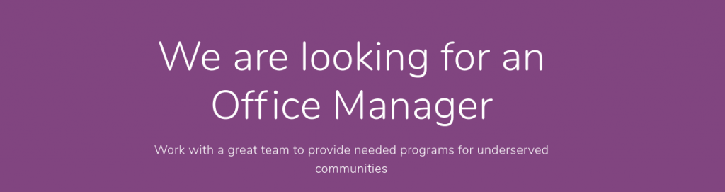 Hiring Office Manager